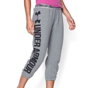Brand New Under Armour Large Cropped Sweatpants
